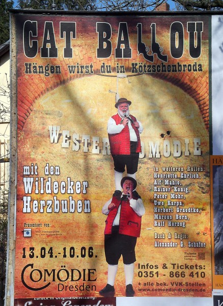 "Plakat ""Cat Ballou"""