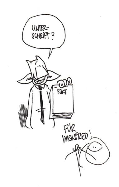 Autogramm Flix