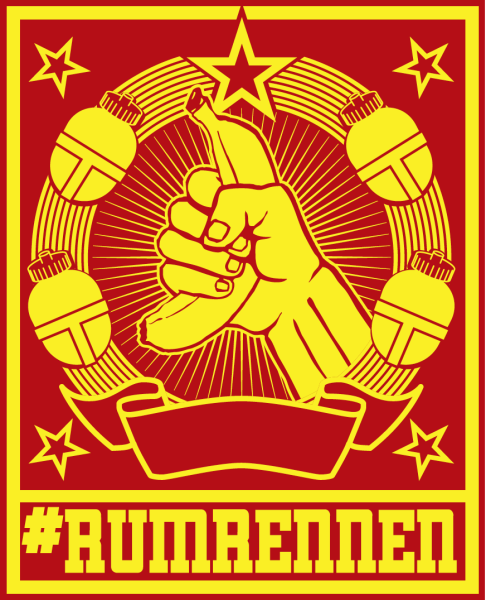 Logo Team #rumrennen