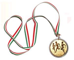 Medaille Winterlaufserie Hilden
