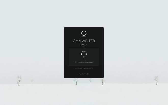 Ommwriter Start